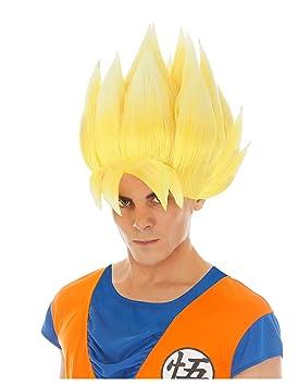 Chaks Dragon Ball Peluca Goku Super Sayajin Accesorio Traje ...