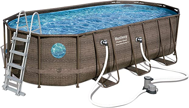 Bestway 56716 Power Steel Deluxe Series-Juego de Piscina ...
