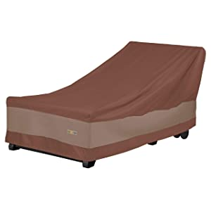Duck Covers Ultimate Patio Chaise Lounge Cover, 86-Inch