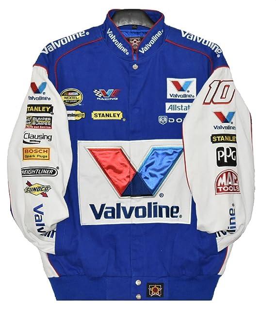 Valvoline Cotton Racing Jacket Size Large at Amazon Men's