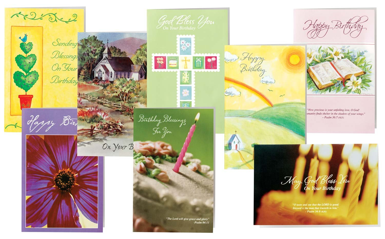 Amazon Walterdrake Christian Birthday Cards Set Of 24