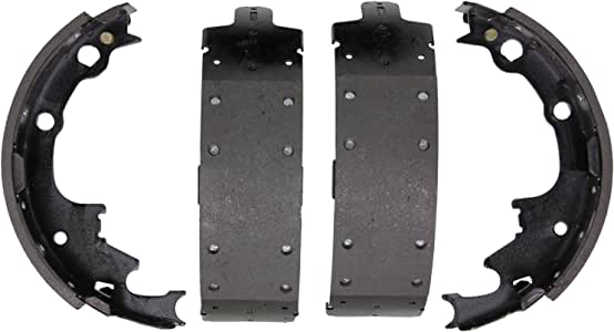 Wagner Z538R Riveted Brake Shoe Set, Rear