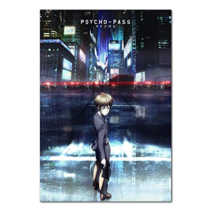 Amazon.com: Printing Pira - Psycho Pass Anime Poster (11x17 ...