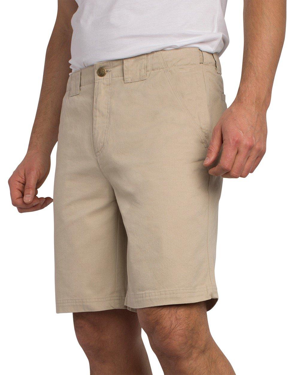SCOTTeVEST Hidden Cargo Shorts - 8 Pockets – Comfortable Travel Clothing PBL 34