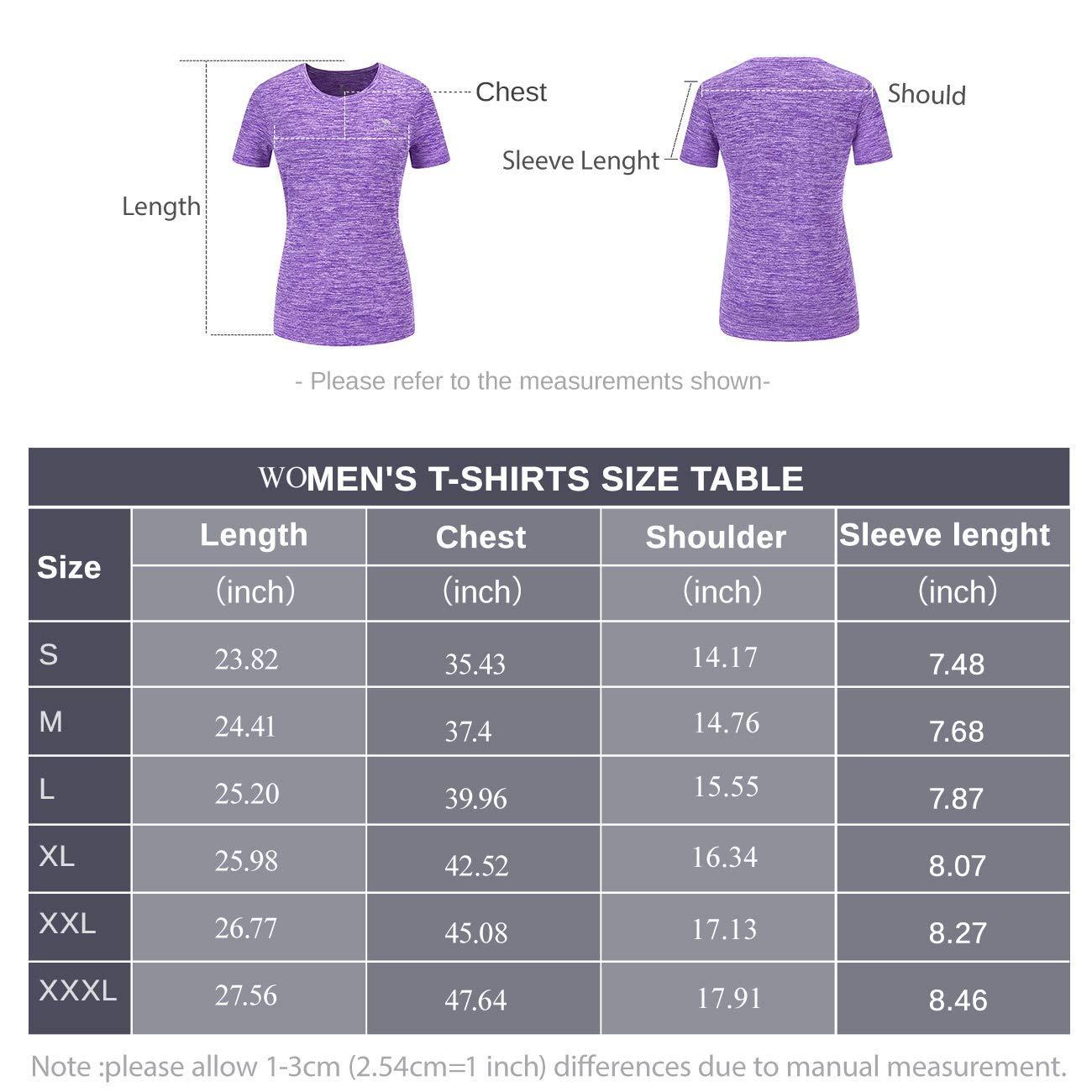 CAMEL CROWN Maglia T-Shirt Sportiva Donna Tee Maglietta A Maniche Corte Camicie Traspirante Sportive Estate Asciugatura Rapida Sport Esercizio Formazione Fitness Yoga Corsa Trainingsshirt