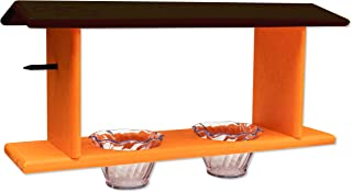 product image for DutchCrafters Amish Poly Double Oriole Feeder (Black & Orange)
