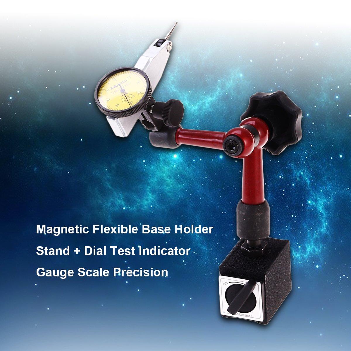 ukcoco précise échelle magnétique du support du support de la base du support magnétique + Cadran de la poignée