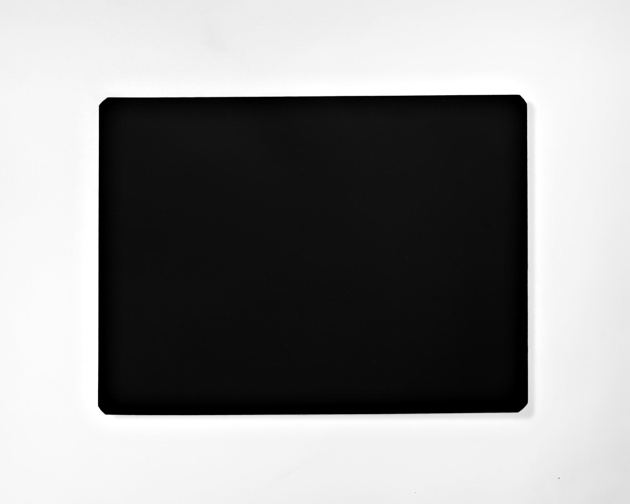 Black - Dry Erase Magnetic Sheet - 12'' X 18'' - 1 Sheet