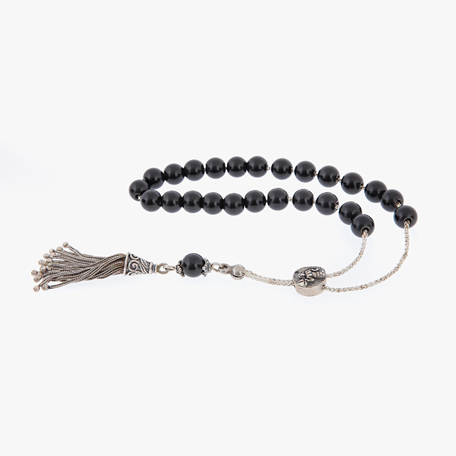 Onyx Gemstone Handmade Worry Beads