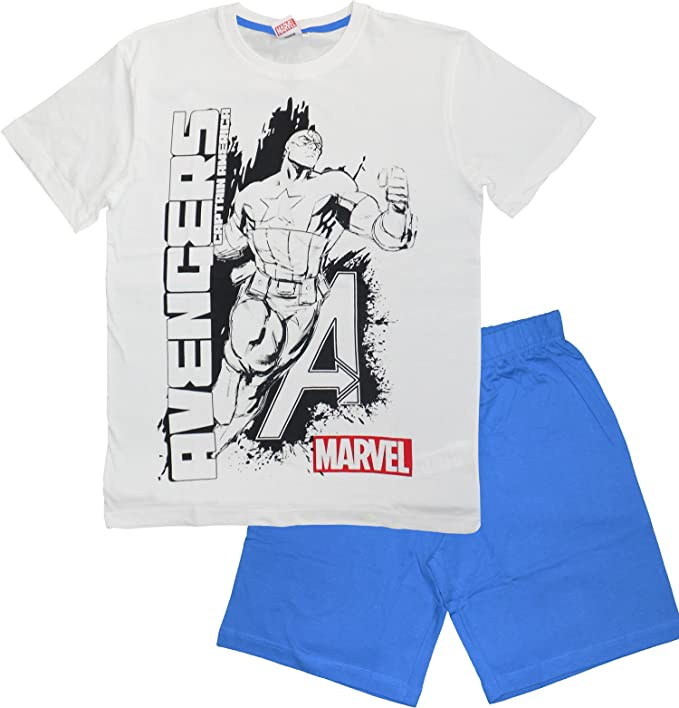 Marvel Avengers - Pijama - para Hombre Azul Azul Medium