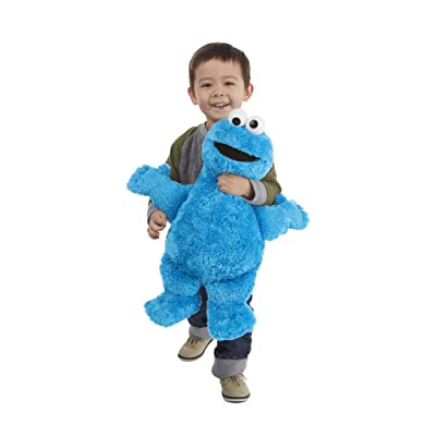 Playskool Sesame Street Cookie Monster Jumbo Plush 20 Inches: Toys & Games