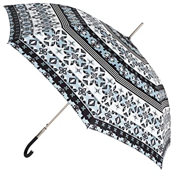 b2de74a284a El Original Estampado de Este Paraguas VOGUE Largo de Mujer es Exclusivo de  la Marca. El Paraguas Cuenta con Apertura automática