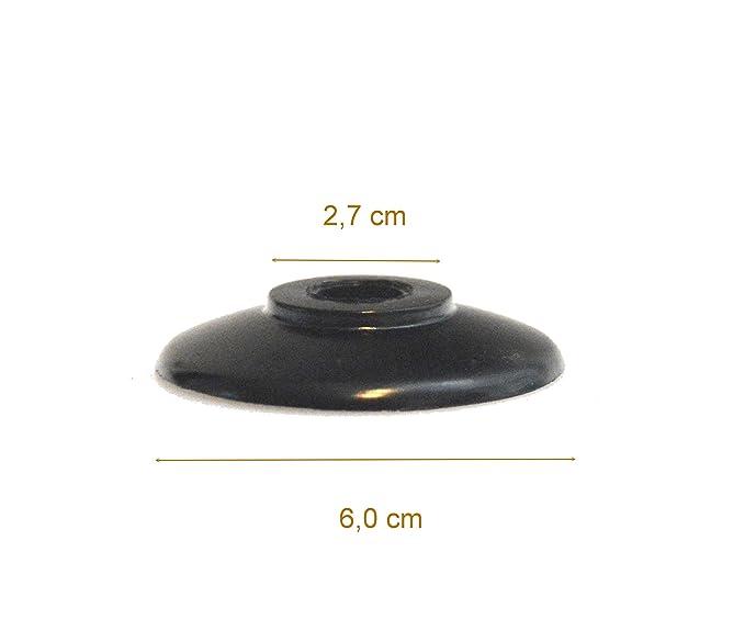 Tirador de repuesto universal para tapa de olla, color negro, apto para muchas marcas., plástico, 1: Amazon.es: Hogar