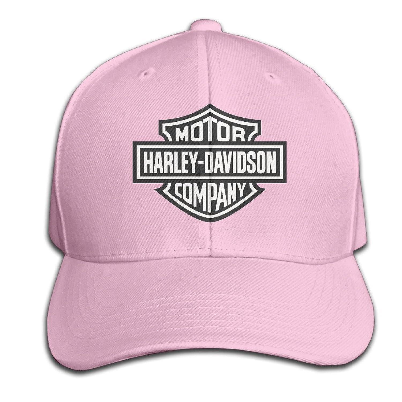 AGMPO Unisex Harley Davidson Logo Peaked Baseball Cap Hats