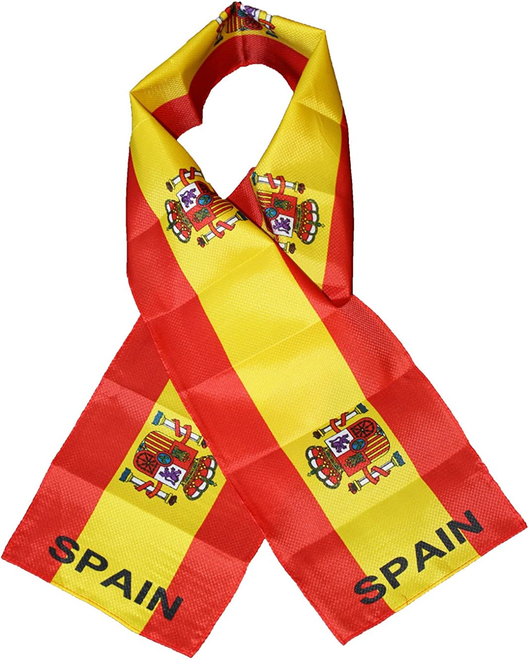 Spain Lightweight Flag Scarf