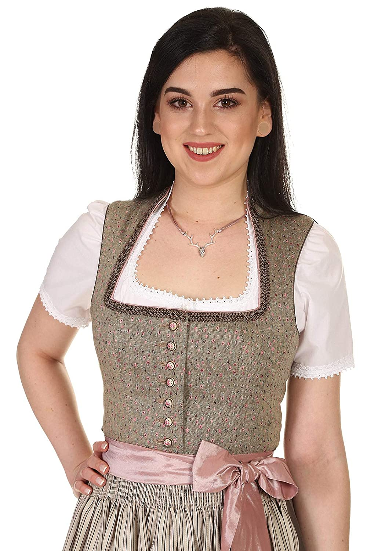 Countryline Damen Dirndl lang mit Stehkragen festlich festlich festlich 41230 Rocklänge 90 cm B07NVMHYCT Dirndl Qualitätskleidung 25dcc4