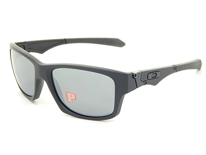 32e6edd177 Image Unavailable. Image not available for. Colour  Oakley Jupiter Squared  9135-09 Matte Black  Black Iridium Polarized Sunglasses