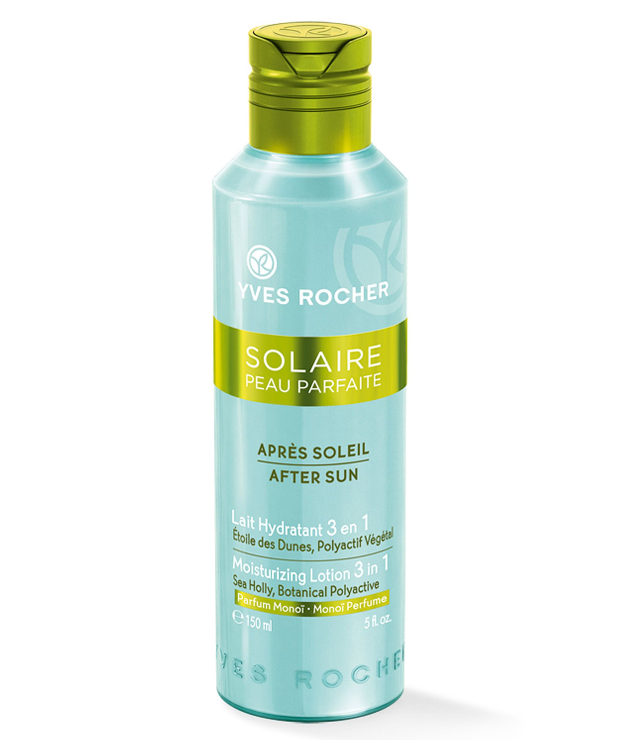 Yves Rocher Perfect Skin Solaire After Sun 3 in 1 Moisturising Lotion 150 ml./5 fl.oz.