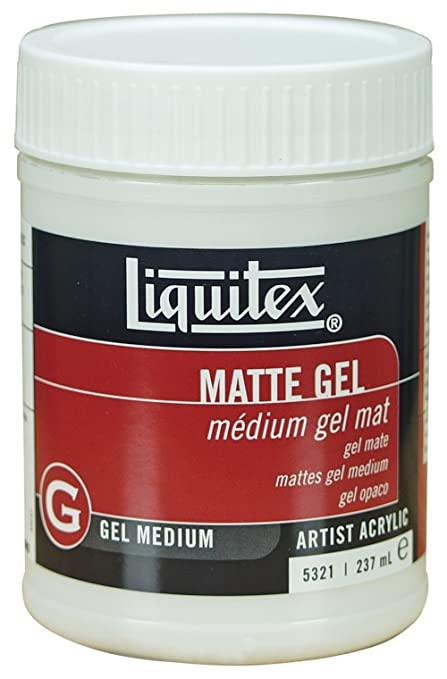 12 opinioni per Liquitex- Medium professionale opaco in gel, 237 ml