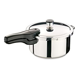 Presto 013414-Quart Stainless Steel Pressure Cooker