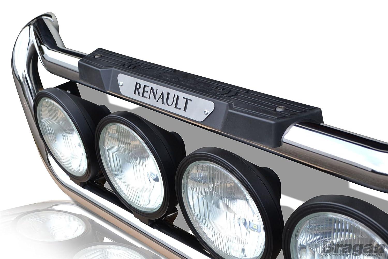 Renault Magnum Mack S/S Barra de luz de camión parrilla delantera C + 4 puntos Oval + lateral LED: Amazon.es: Coche y moto