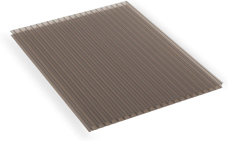 SunLite 174215 - Panel de policarbonato, Color Bronce: Amazon.es ...