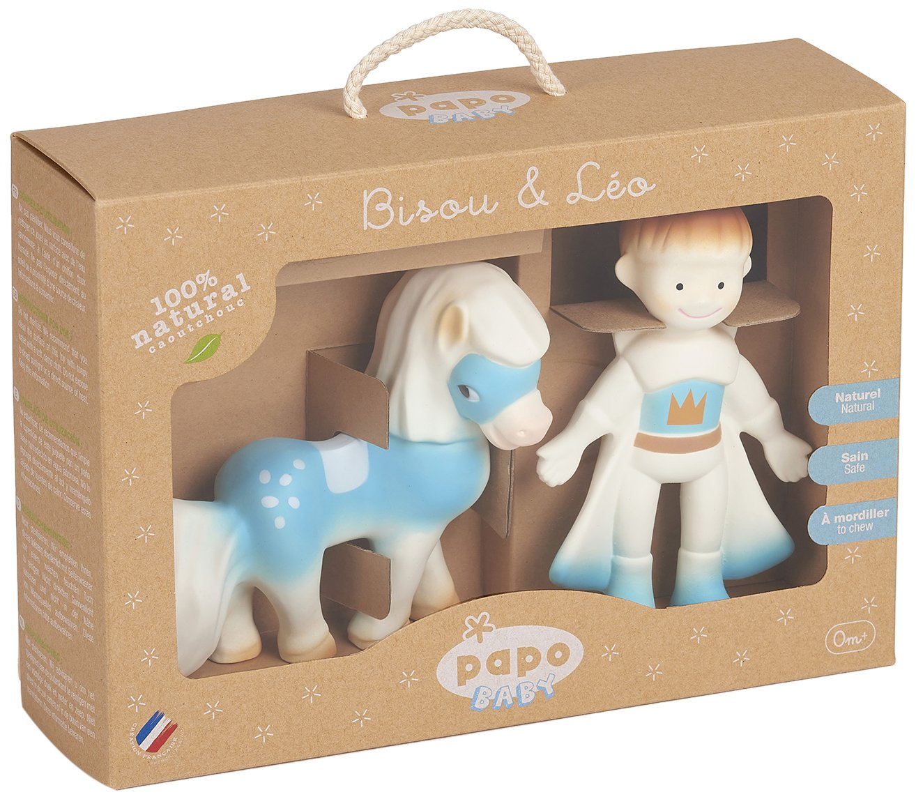 Blue Papo 35005 Boy Baby Teethers