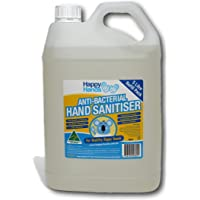 Happy Hands Hand Sanitiser 70% Alcohol Antimicrobial gel. Alcohol Sanitiser- Australian made with Aloe Vera Gel, Vitamin…