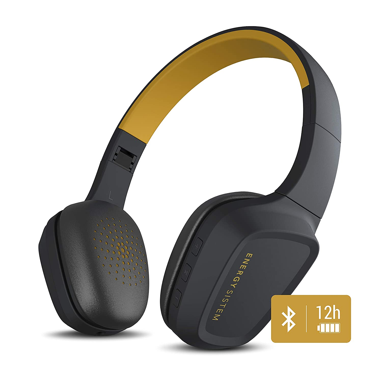 Energy Sistem Headphones 3 Bluetooth Yellow: Energy-Sistem: Amazon.es: Electrónica