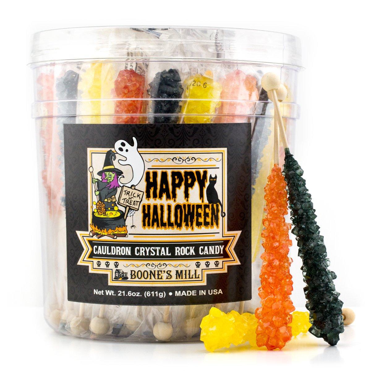Halloween Rock Candy