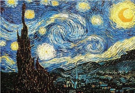 Adult Jigsaw Van Gogh: Starry Night