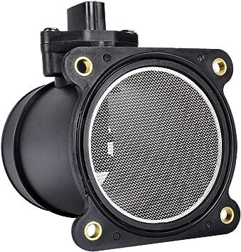 2 Pcs Mass Air Flow Sensor /& Air Filter Fits:Altima Sentra 2002-2003  2.5L 3.5L
