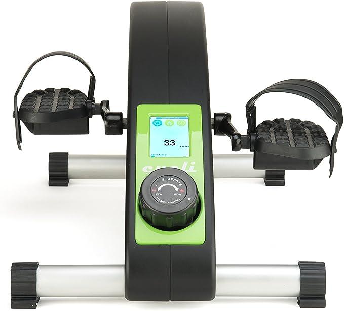 Cycli Ciclo de Escritorio Bluetooth, Bicicleta Estática Portátil de Alta Calidad para Quemar Calorías: Amazon.es: Deportes y aire libre