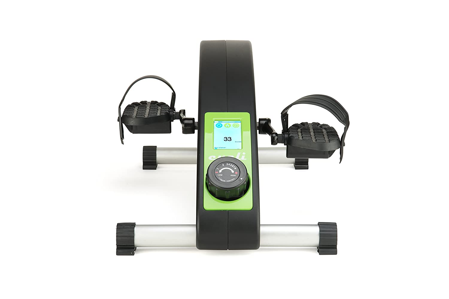 FlintFit Cycli Bluetooth Portable Stationary Cycle Under Desk Cycle for Calorie Burning