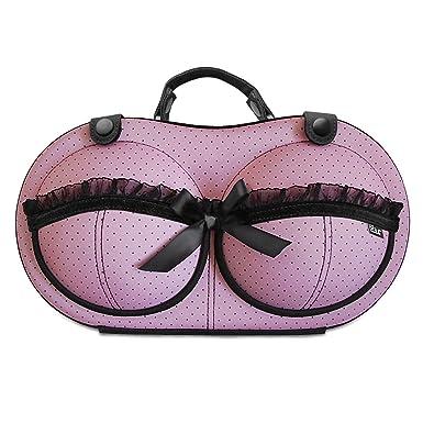 12c1299900a Travel Bra Organizer Lingerie Bag - For Bra Sizes 30A - 36C - Womens  Underwear Organizer