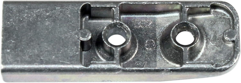 incl SI Siegenia Aubi Schlie/ßblech Schliessplatte 1362 oder A1362 SN-TEC Montagematerial 285022