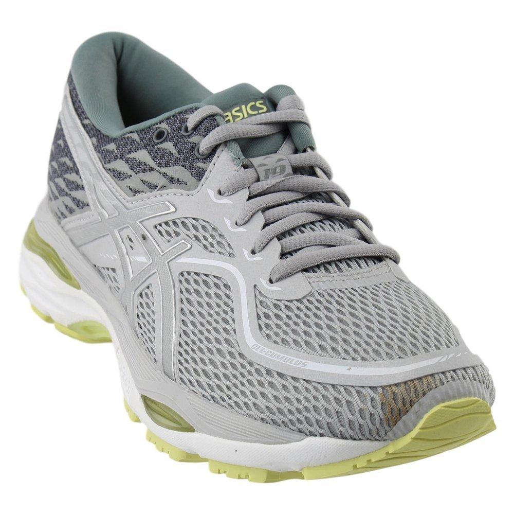 ASICS Women's Gel-Cumulus 19 Running Shoe B077F15WW8 9.5 B(M) US|Grey/Silver/Lime