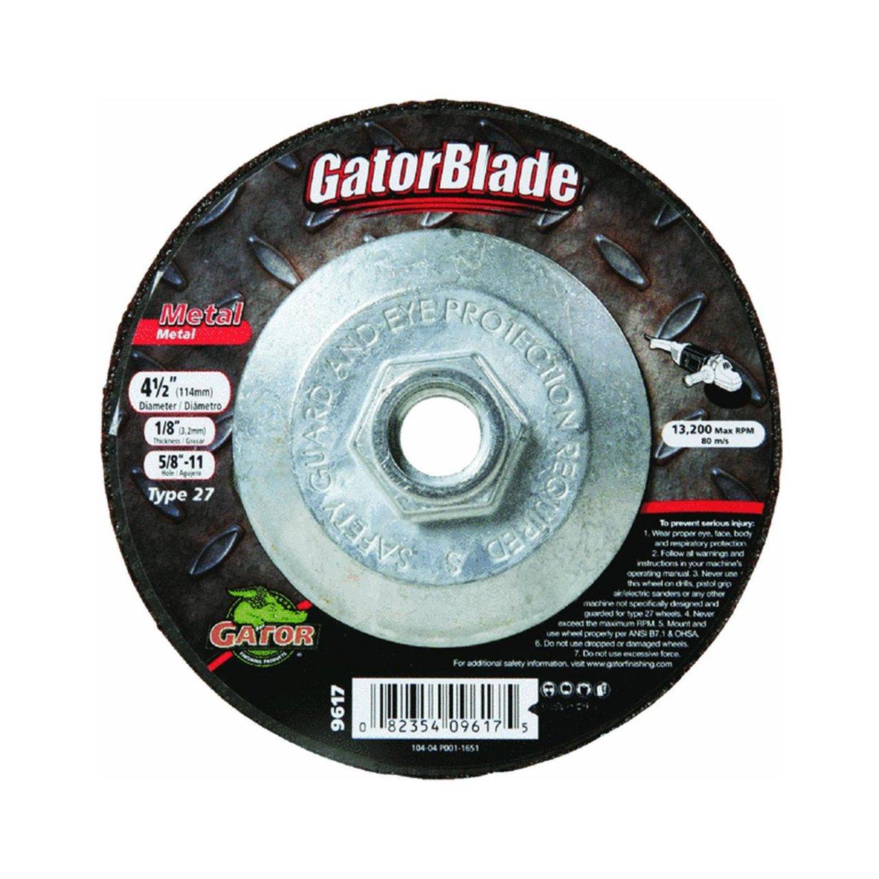 9617 Metal Depressed Center Grinding Wheel Ali Ind