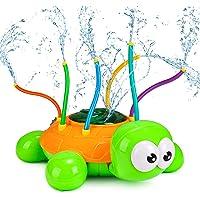 joylink Watersproeier voor kinderen, schildpad, watersproeispeelgoed met 6 slangen, creatief sproeier, kinderspeelgoed…