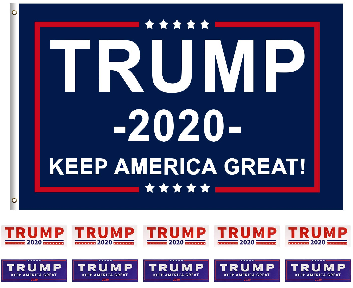 2 x 3D Donald Trump 2020 Keep America Great Flag USA Domed Stickers 100/% Waterproof /& UV Protected Decals Car Motorcycle Helmet F 117