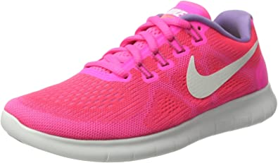 Nike Women S Free Run 2017 Training Shoes Pink Racer Pink Off White Pink Blast Brt Mango Us 6 Road Running