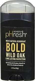 product image for HONESTLY PHRESH Wild Oak Stick Deodorant Men, 0.02 Pound