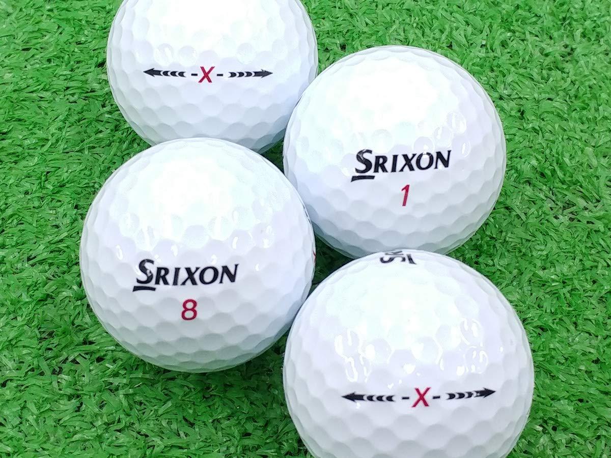【ABランク】【ロゴなし】スリクソン -X- 100個セット【ロストボール】   B07L3V26G4