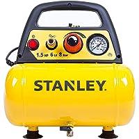 Stanley DN200/8/6 Przenośna Sprężarka 1100 W 230 V Żółty/Czarny 9 kg