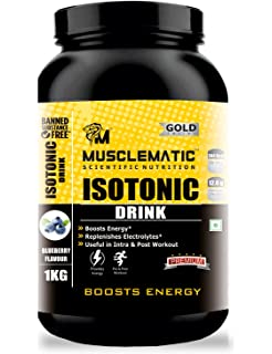 Musclematic Scientific Nutrition Isotonic Drink   1 kg  Blueberry