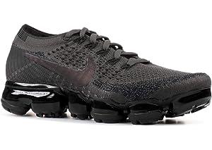 0037e6fb17b0 Nike WMNS Air Vapormax Flyknit 849557 009 Midnight Fog Black Women s  Running Shoes (10