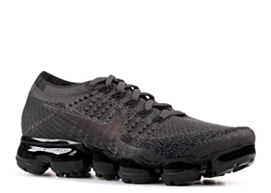 e2d26692a2d3d Image Unavailable. Image not available for. Color  Nike WMNS Air Vapormax  Flyknit 849557 009 Midnight Fog Black Women s Running Shoes ...