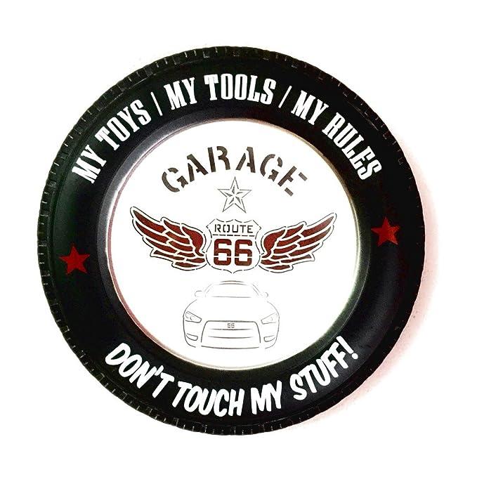 Cartel Garage Route 66 vintage Letrero metálico luminoso ...