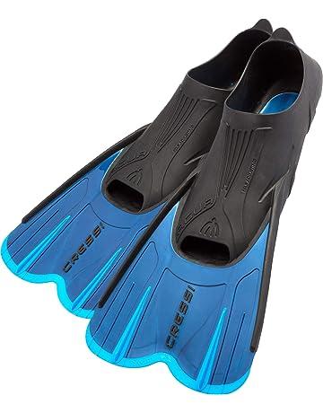 Cressi Adult Short Light Swim Fins with Self-Adjustable Comfortable Full  Foot Pocket  2ec5a6d69a