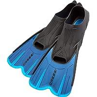 Cressi Agua Short - Aletas Cortas para natación y Snorkel para Adulto, Fabricado en Italia Calidad Italiana Desde 1946